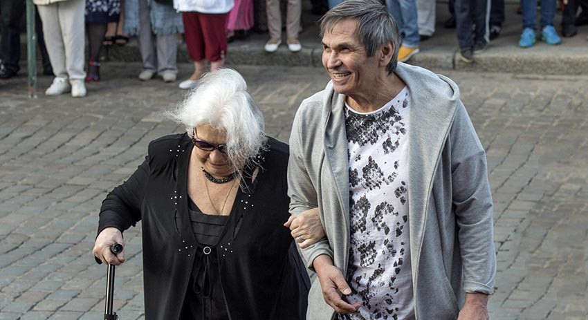 Бари Алибасов женился на Лид…