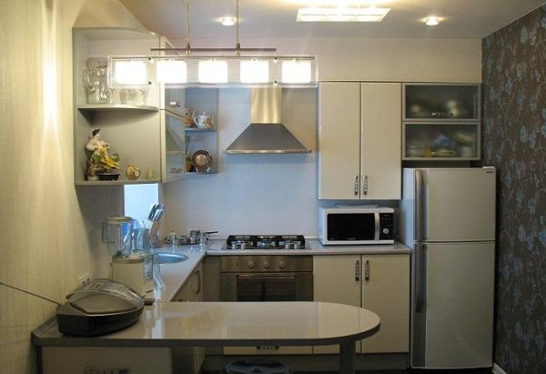 маленькая кухня в хрущевке фото 7