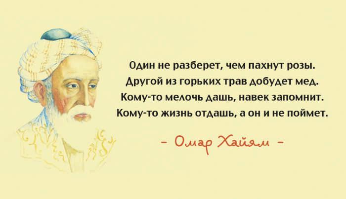 Омар Хайям и его лучшие цита…