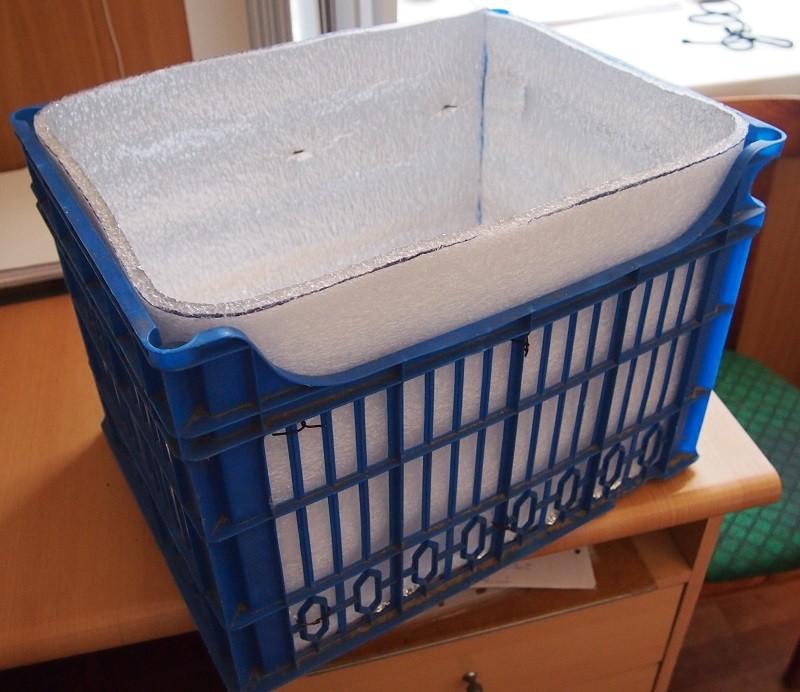 Холодильник (вернее, термоконтейнер) своими руками своими руками, сделай сам, термоконтейнер, холодильник