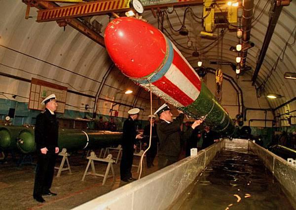 День специалиста минно-торпедной службы ВМФ РФ