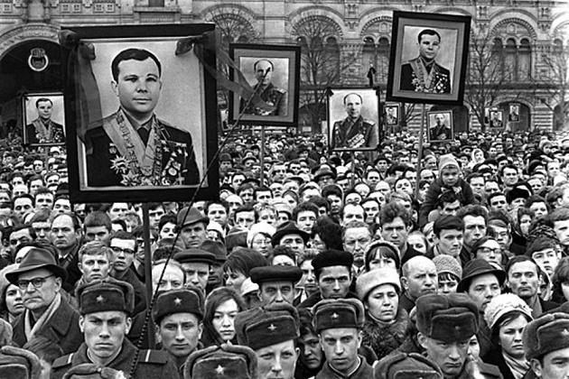 Как хоронили Юрия Гагарина