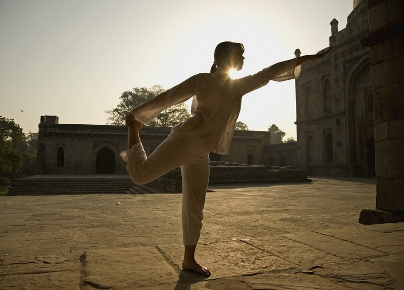 позы йоги для гибкости