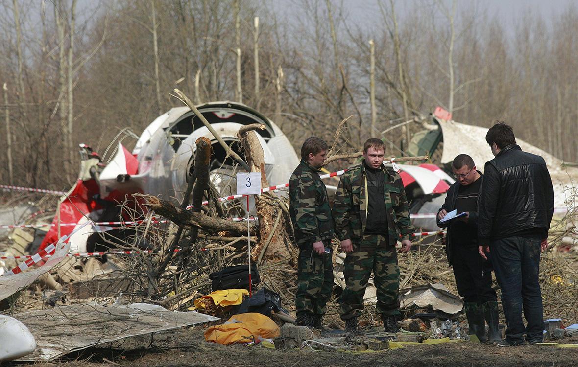 И детонатор-береза: В Польше версию о взрыве на Ту-154 Качиньского признали основной
