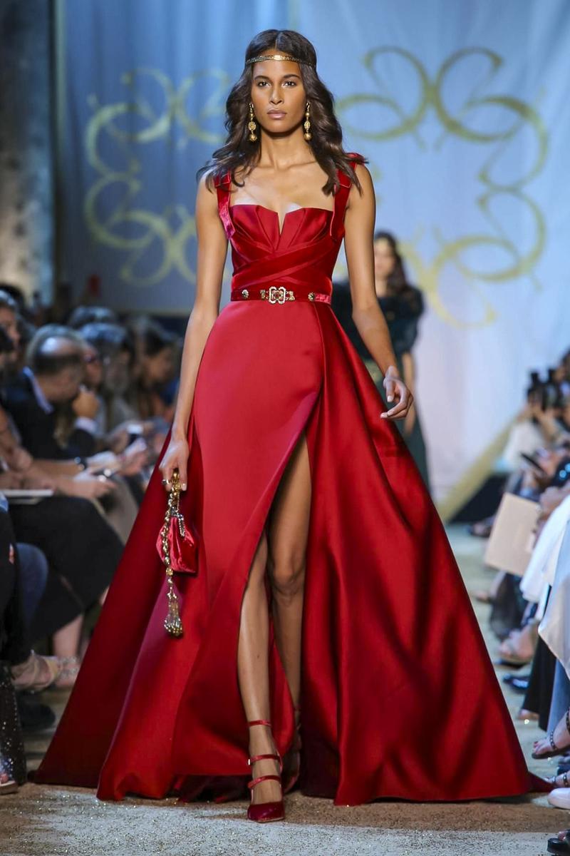 Самые красивые красные платья Haute Couture осень-зима 2017-2018