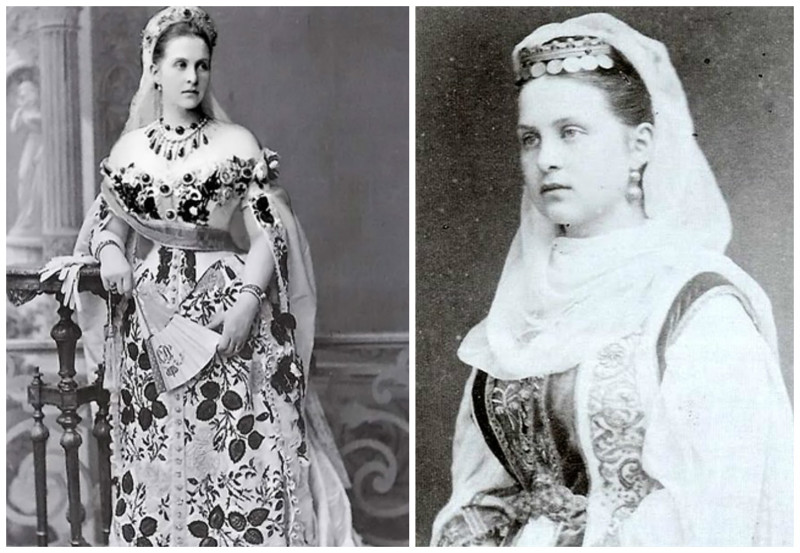 Великая княжна Ольга Константиновна (22 августа [3 сентября] 1851, Павловск — 19 июня 1926, Рим) — жена второго греческого короля Георга, регент Греции в ноябре — декабре 1920 года. интересное, исторические фото, история, принцессы