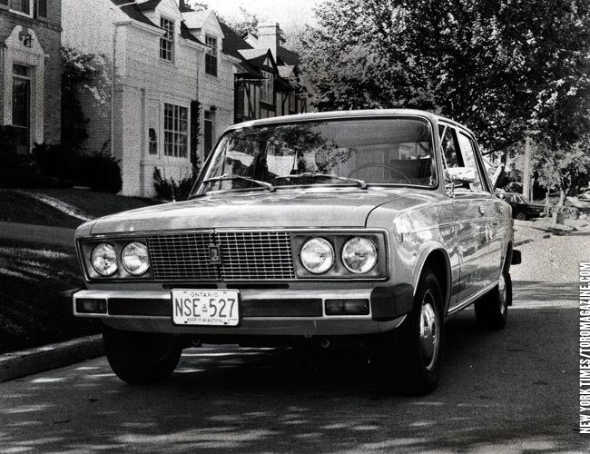 Как автомобили Lada завоевывали рынок Канады
