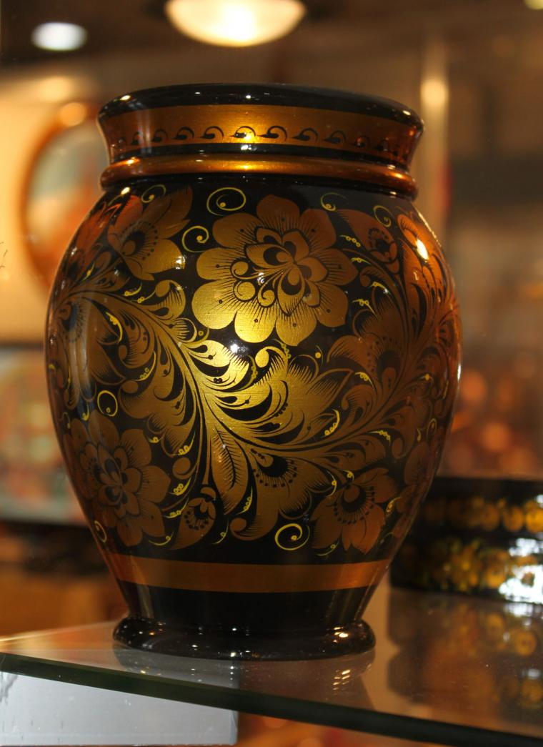 Хохлома: посуда, достойная царского стола