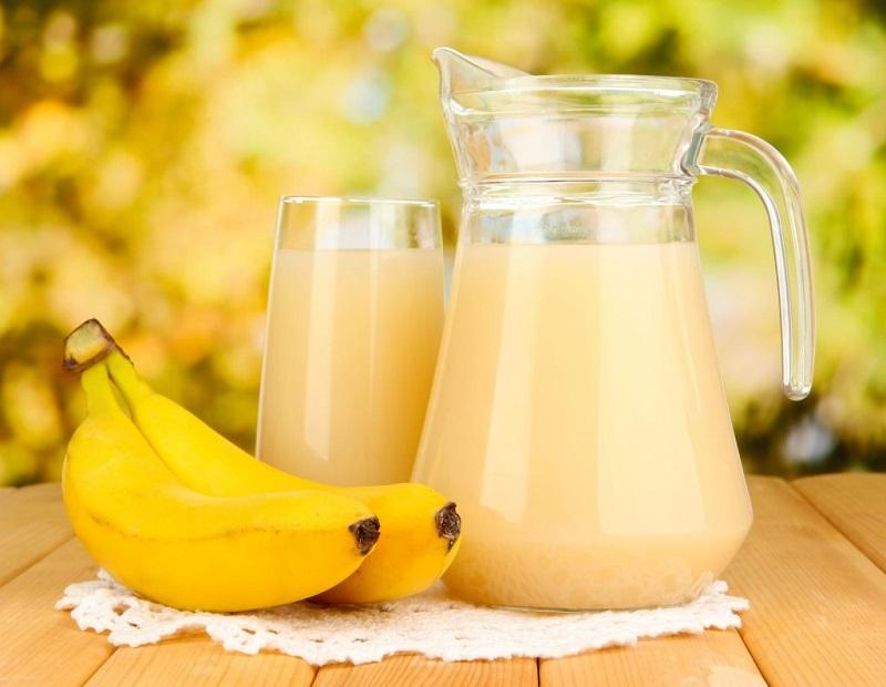мед и банан от кашля