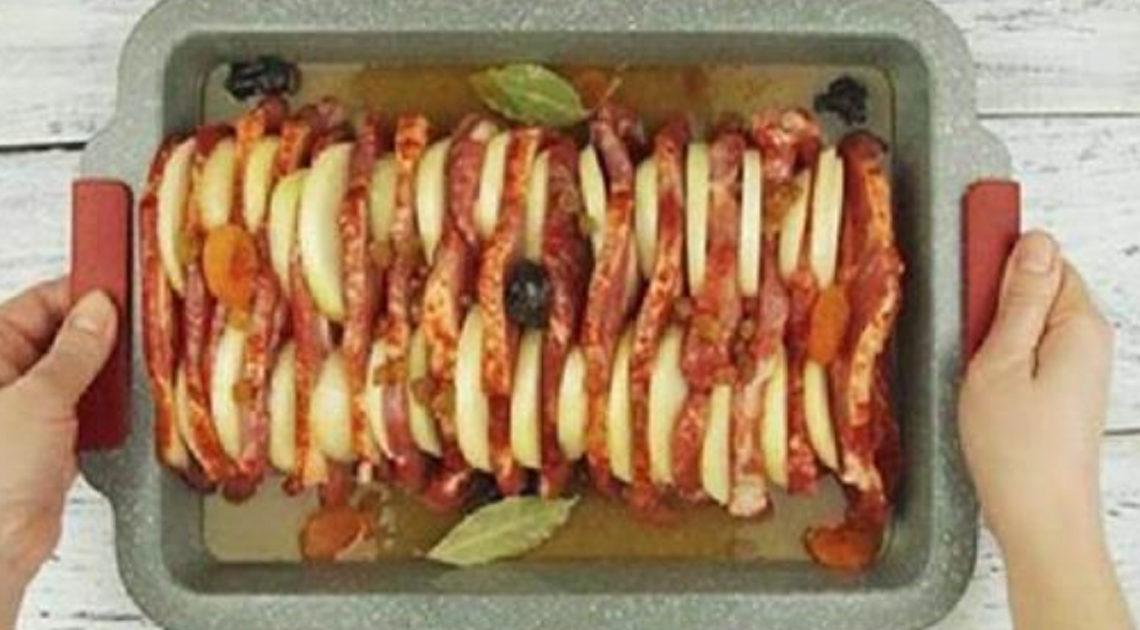 Гениальный рецепт запеченной свинины