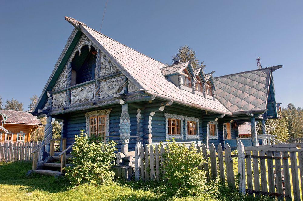 домик, старый дом