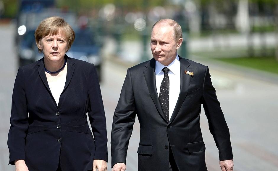 Стали известны темы предстоящей встречи Путина и Меркель в Сочи