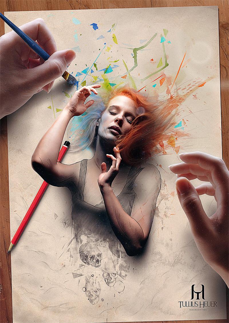 Реалистичные цифровые картины бразильского художника Туллиус Хейера, иллюстарации, искусство, картина, картины, талант, художник, цифровая живопись