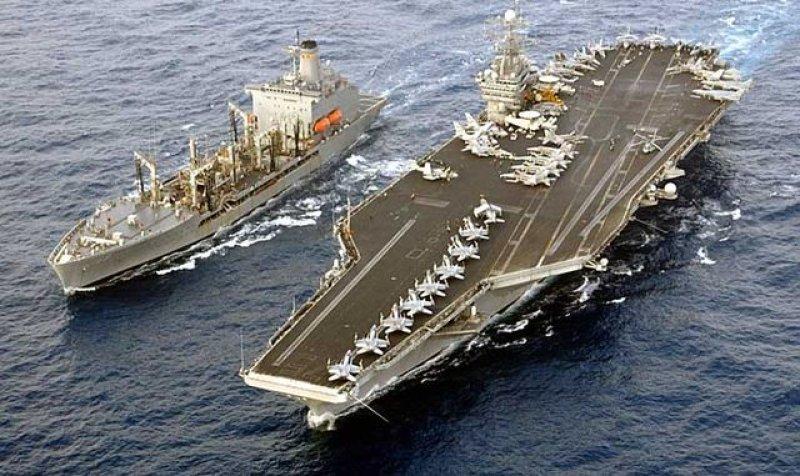 Для сдерживания России: в Норвегию прибыл авианосец ВМФ США Harry S. Truman для участия в учениях