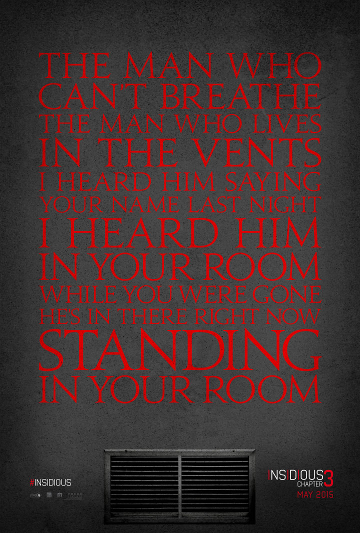INSIDIOUS: CHAPTER 3 TEASER POSTER UNVEILED