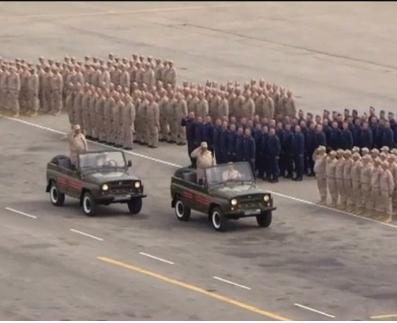 На аэродроме в сирийской Латакии проходит Парад Победы (видео)