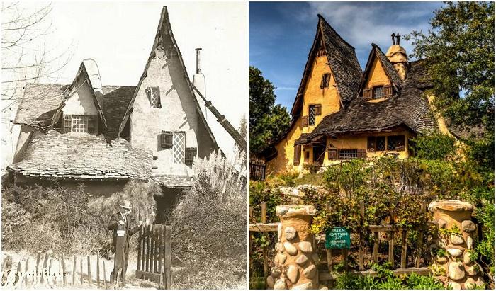 «Ведьмин дом» – самая эксцентричная и таинственная избушка Беверли-Хиллз (Лос-Анджелес, США).