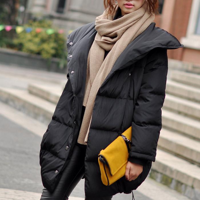 Как носить шарф с пуховиком: 5 стильных вариантов