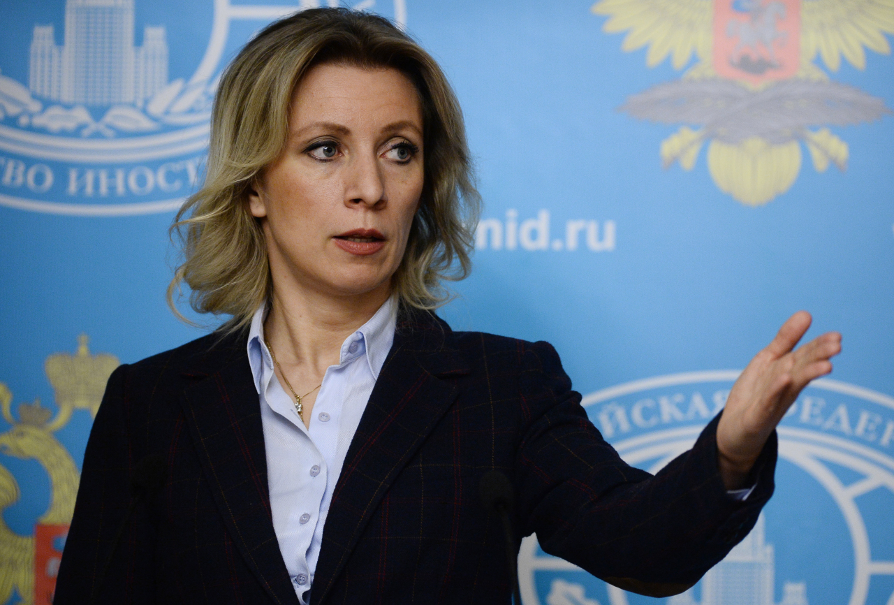 """Захарова предупредила ООН о """"вирусной эпидемии"""" фейковых новостей"""