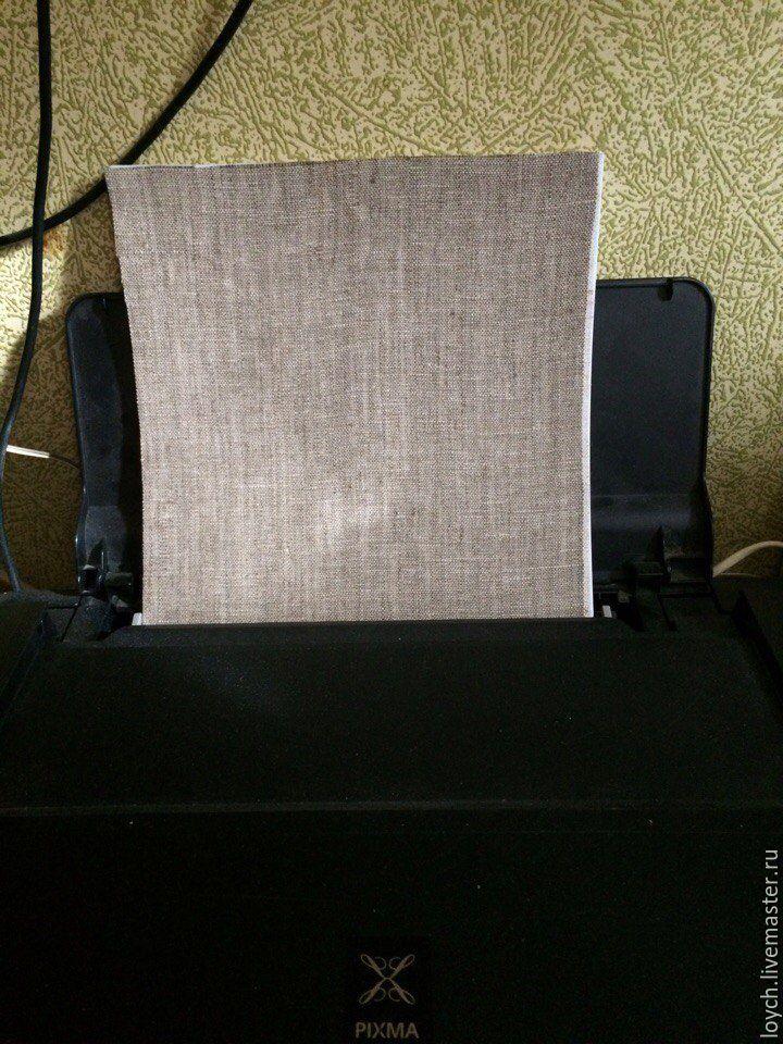 Как сделать принт на холсте в домашних условиях