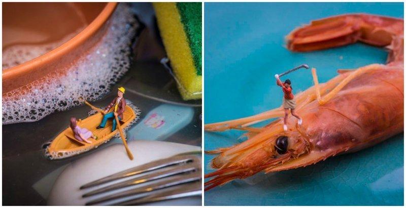 """""""Крошечный мир, где возможно всё"""": креативные миниатюры Питера Ксаквари"""