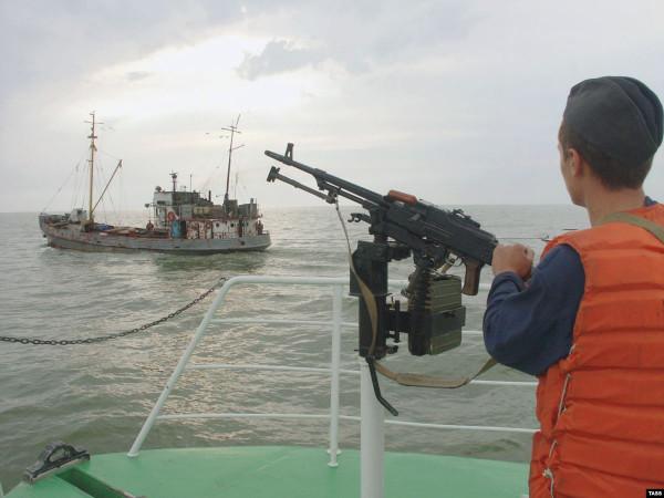 Северокорейские рыбаки напал…