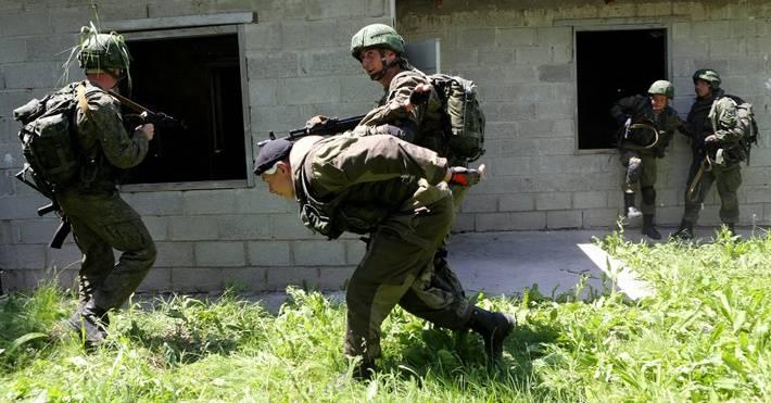 В Киргизии проводится проверка боеготовности российских сил антитеррора