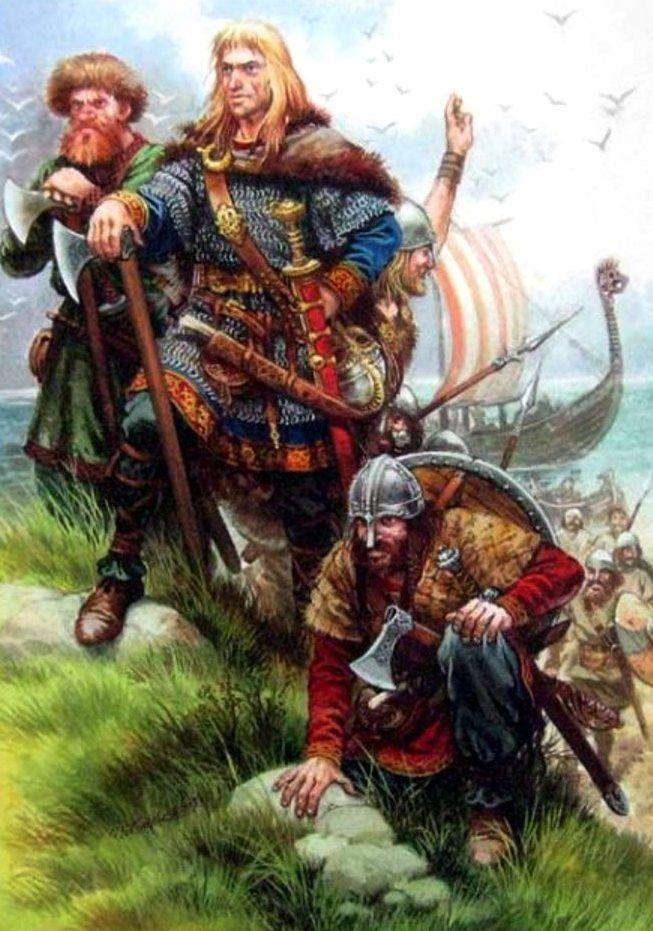 Сага о том, как славянин Рюрик и прочая челядь на чистом вологодском санскрите преподавали российскую историю
