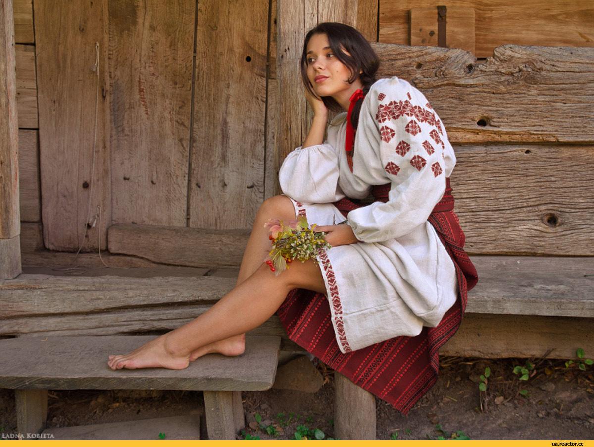 Как одеваются деревенские девушки фото