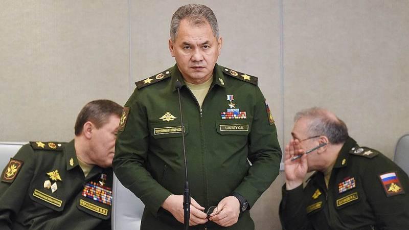 Кто подставил министра обороны Сергея Шойгу?