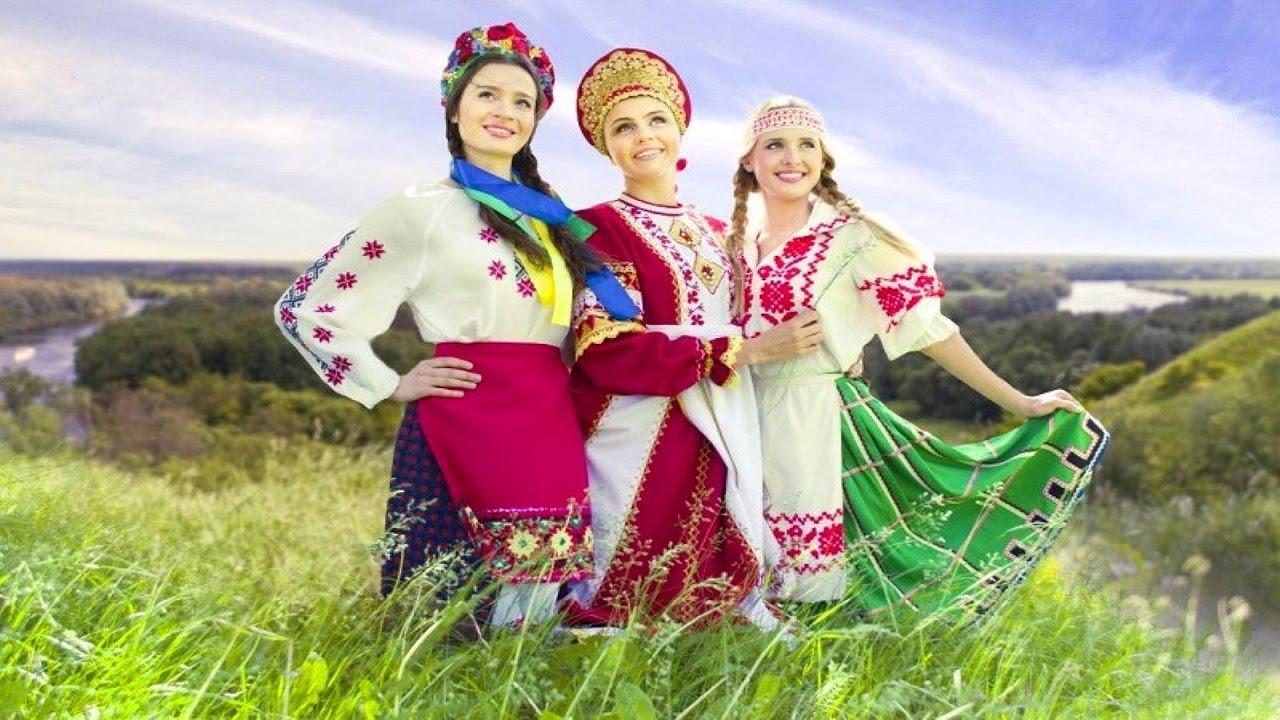 Россия, Украина, Белоруссия: русские