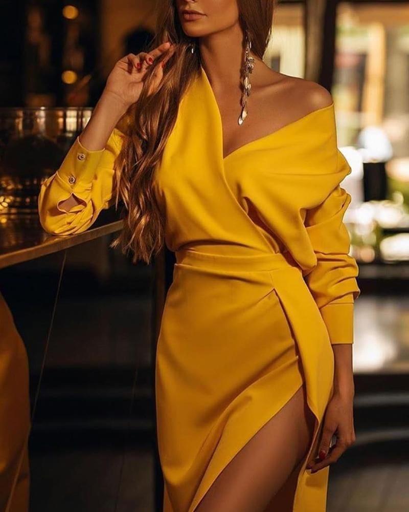 Платья с цельнокроеным рукавом: немного модного акента
