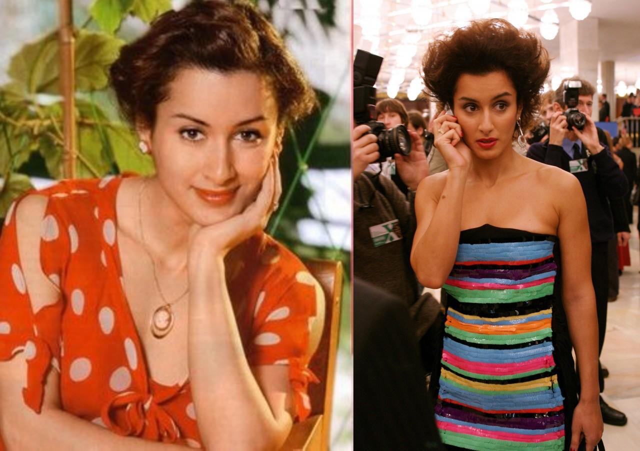 Тина Канделаки (41 год) люди, телеведущие, телевизор, тогда и сейчас