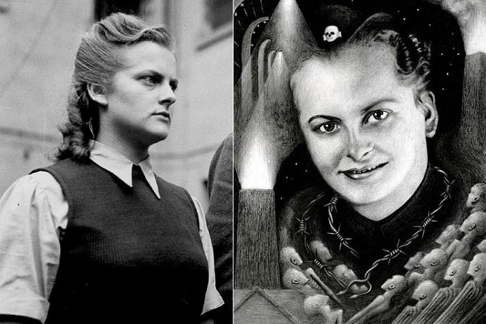Ирма Грезе - надзирательница нацистских лагерей смерти.