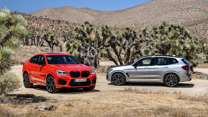 Разгон до сотни за 4 секунды. BMW представила спортивные внедорожники X3 M и X4 M