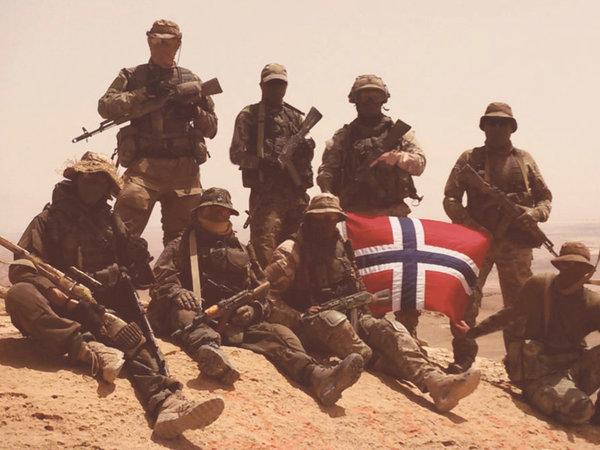 Норвежские военные воевали н…