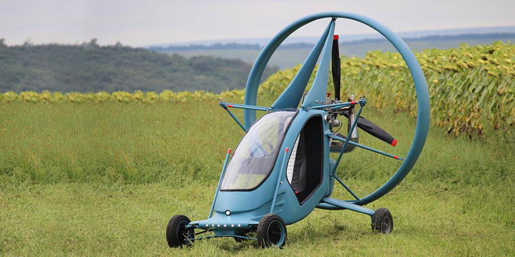 В России построили летающий автомобиль