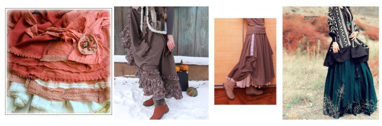 Юбка-макси — настоящий тренд уличной моды осенью