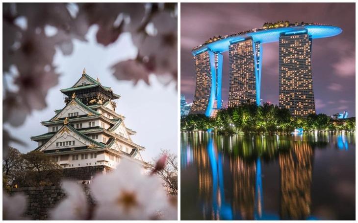 Потрясающая азиатская архите…