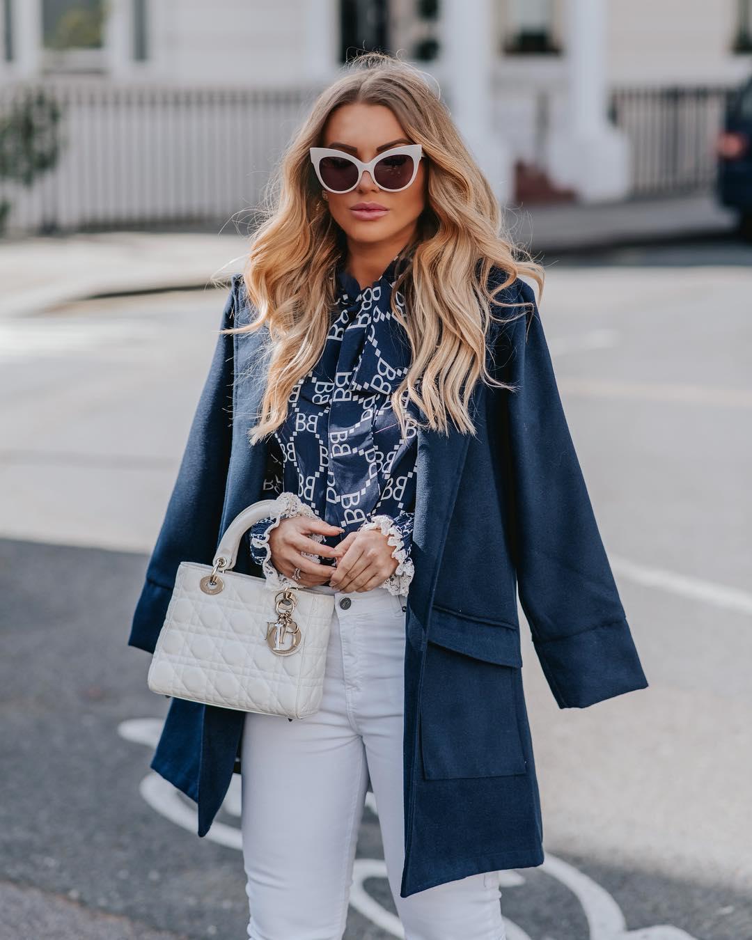 модные образы для деловых женщин осени 2019 фото 16