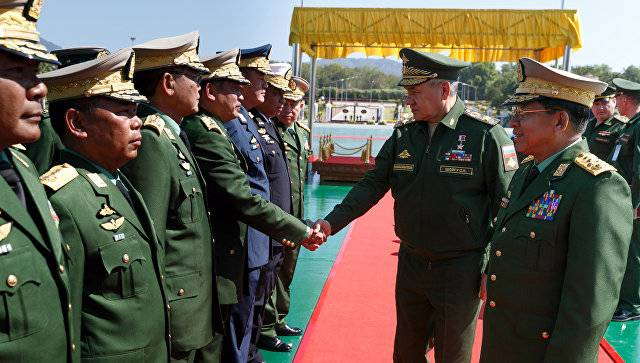 Шойгу: Россия готова поделиться с Мьянмой опытом борьбы с беспилотниками