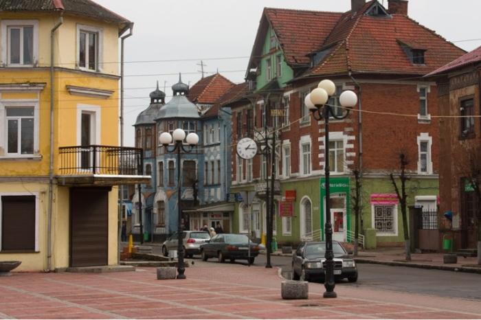 Город Зеленоградск.