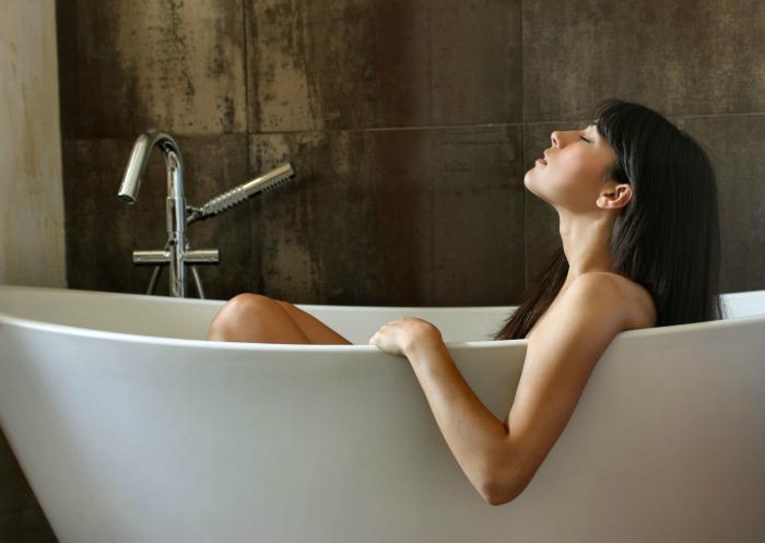 Детокс-ванна с перекисью.