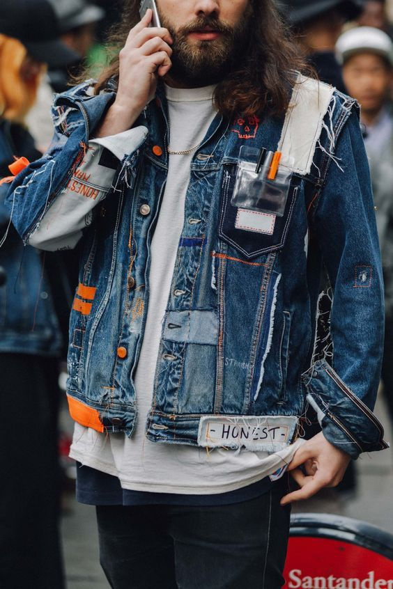 Мужские джинсовки