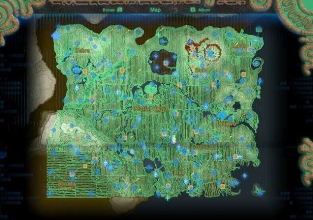 Игрок полностью обошёл карту Zelda: Breath of the Wild и самостоятельно нашёл 900 корокских семечек