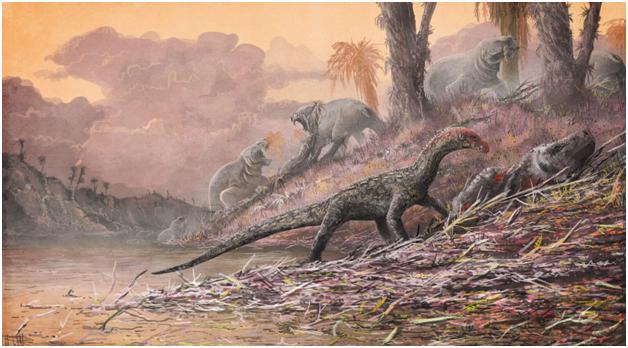 Шок! Найден доисторический монстр с 50-ю ногами