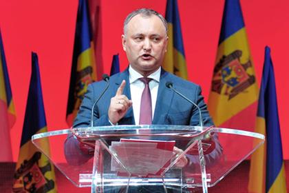 Президент Молдавии пообещал организовать Майдан для свержения правительства Молдавии