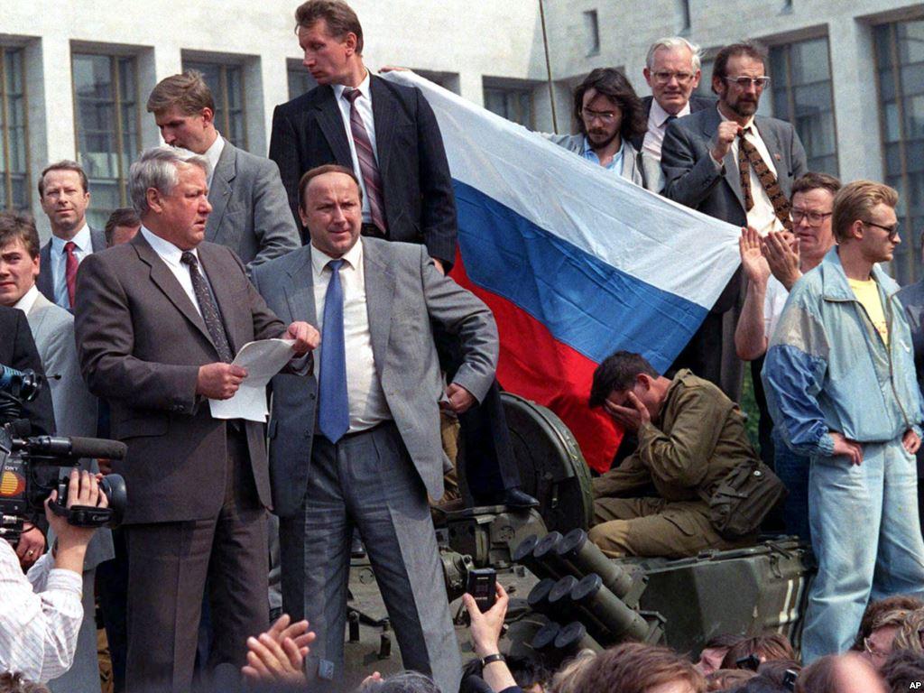 ГКЧП и начало смутных времен: помянем Майдан с Ельциным в России