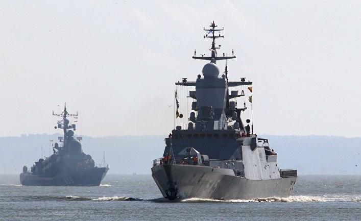 Российские боевые корабли ус…