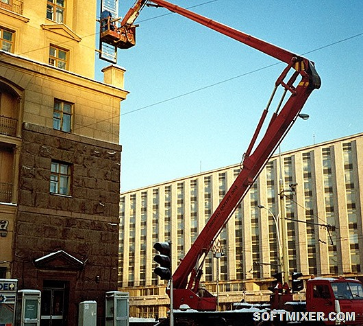 Первый Макдоналдс в Москве - исторические фото открытия в 1990 года